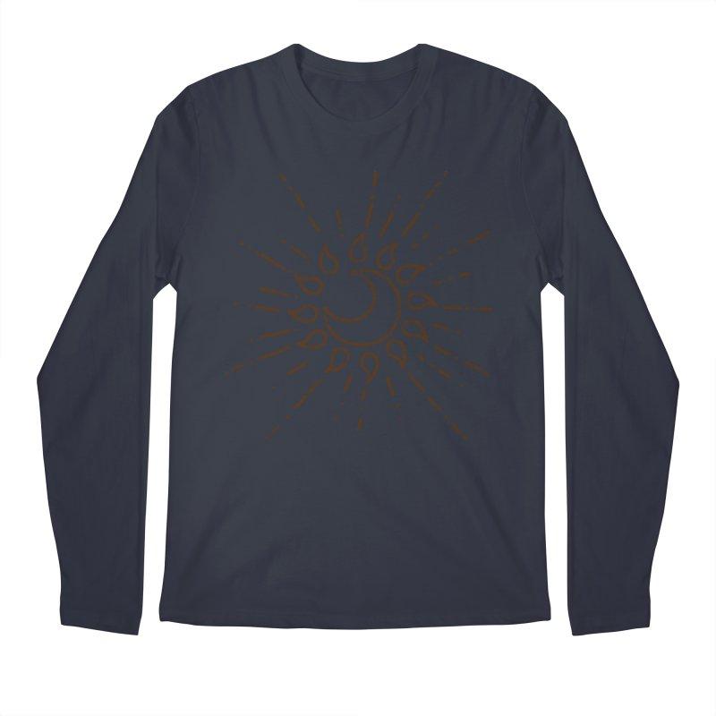 The Soluna Faith (Brown) Men's Regular Longsleeve T-Shirt by Hound Picked Games