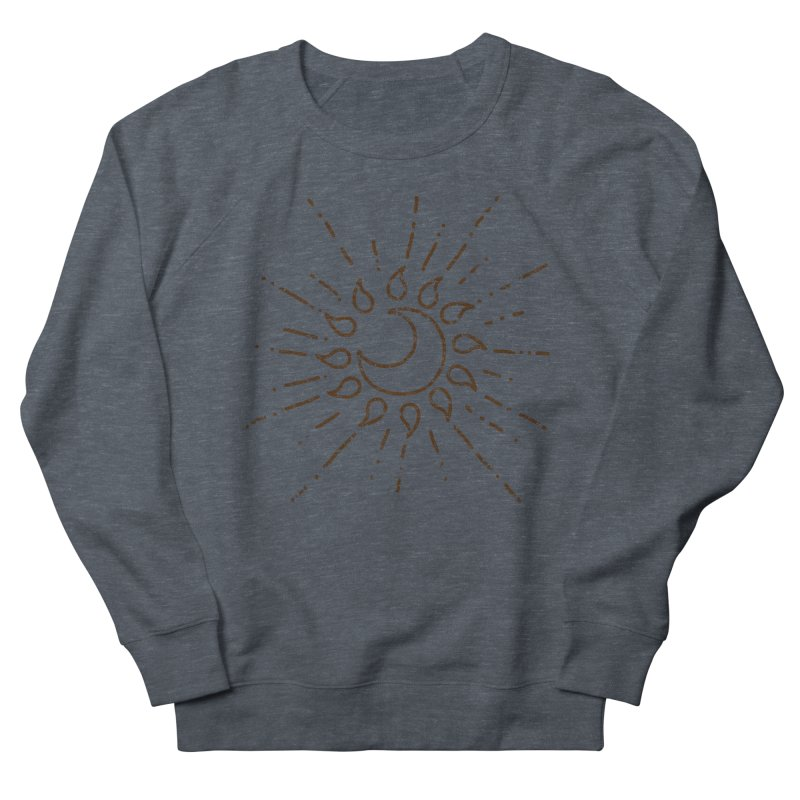 The Soluna Faith (Brown) Men's French Terry Sweatshirt by Hound Picked Games