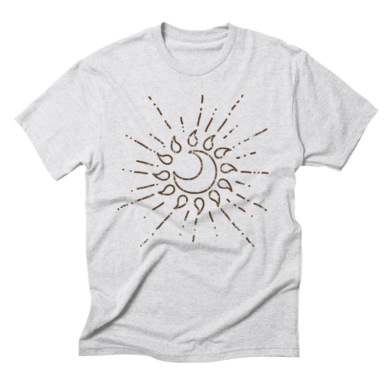 The Soluna Faith (Brown) Men's Triblend T-Shirt by Hound Picked Games