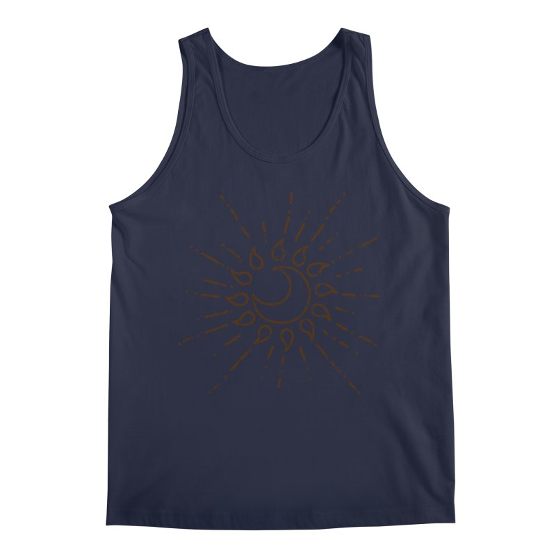 The Soluna Faith (Brown) Men's Regular Tank by Hound Picked Games