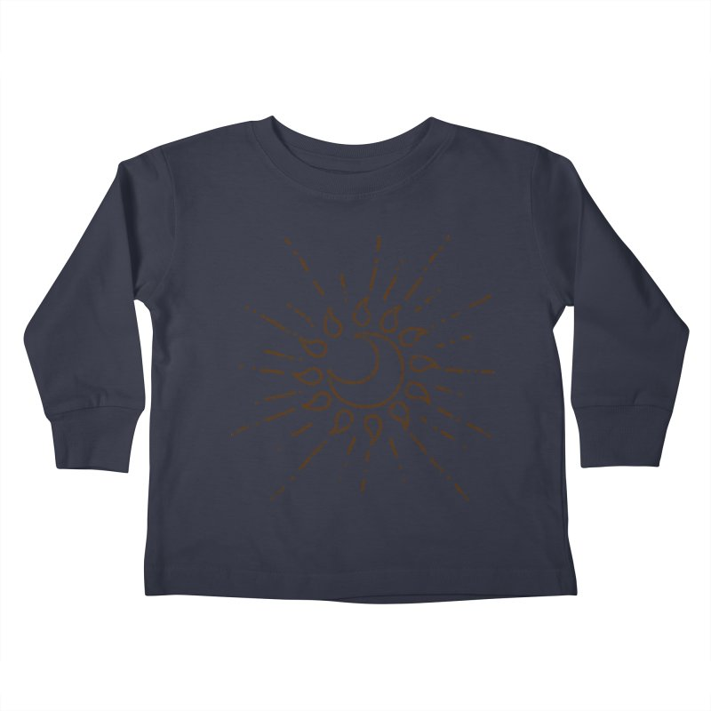 The Soluna Faith (Brown) Kids Toddler Longsleeve T-Shirt by Hound Picked Games