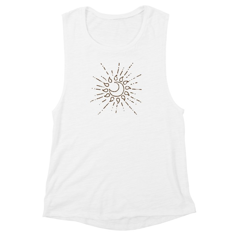 The Soluna Faith (Brown) Women's Muscle Tank by Hound Picked Games