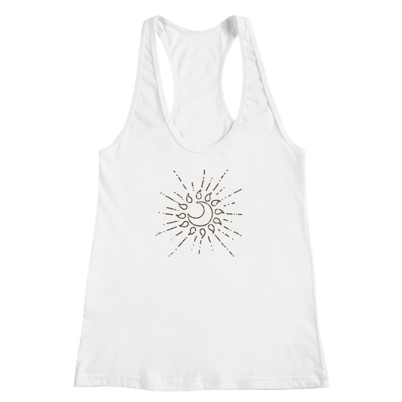The Soluna Faith (Brown) Women's Racerback Tank by Hound Picked Games
