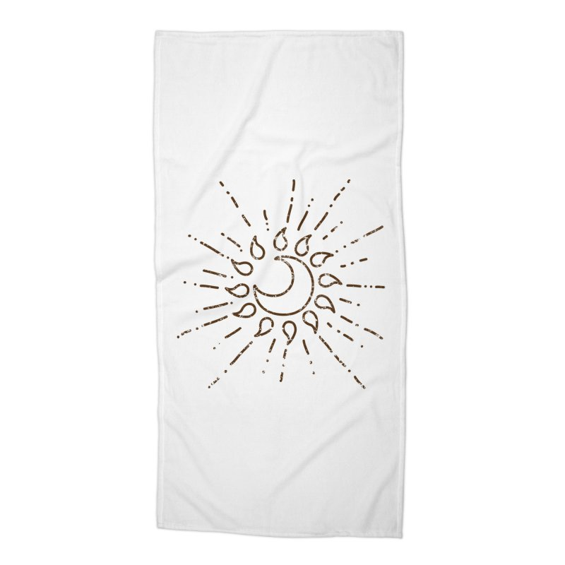 The Soluna Faith (Brown) Accessories Beach Towel by Hound Picked Games