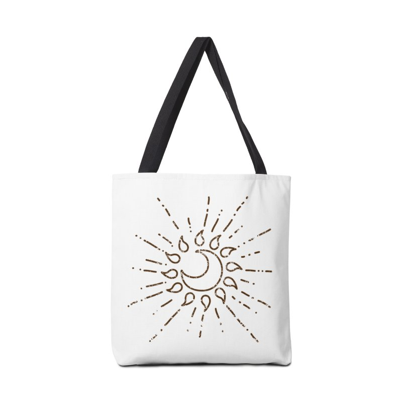 The Soluna Faith (Brown) Accessories Tote Bag Bag by Hound Picked Games