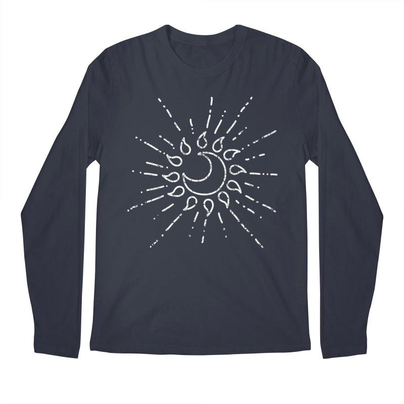 The Soluna Faith (White) Men's Regular Longsleeve T-Shirt by Hound Picked Games