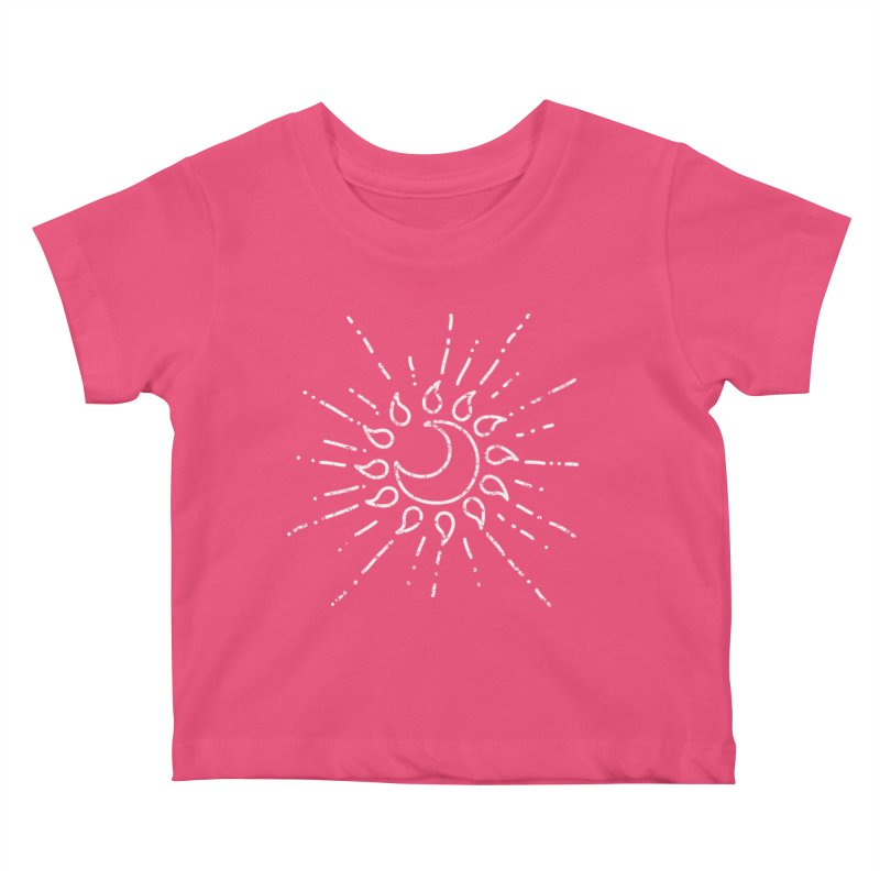 The Soluna Faith (White) Kids Baby T-Shirt by Hound Picked Games