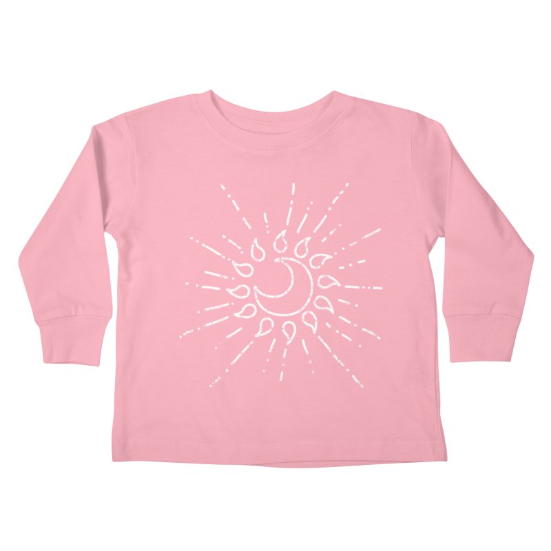 The Soluna Faith (White) Kids Toddler Longsleeve T-Shirt by Hound Picked Games