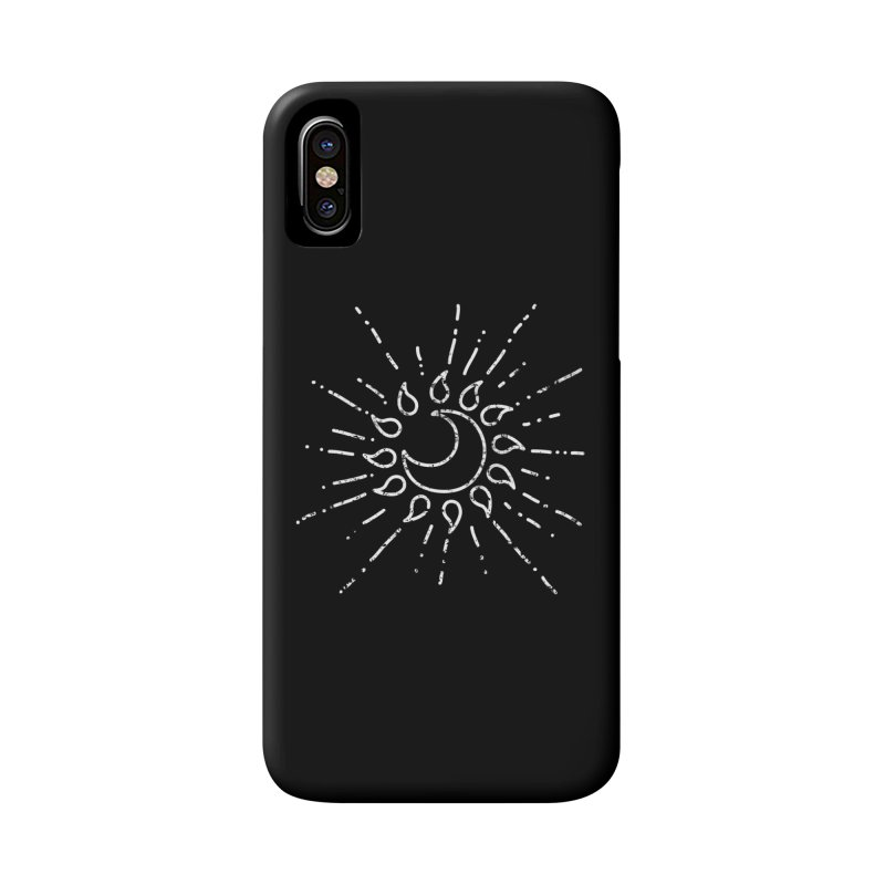 The Soluna Faith (White) in iPhone X Phone Case Slim by Hound Picked Games