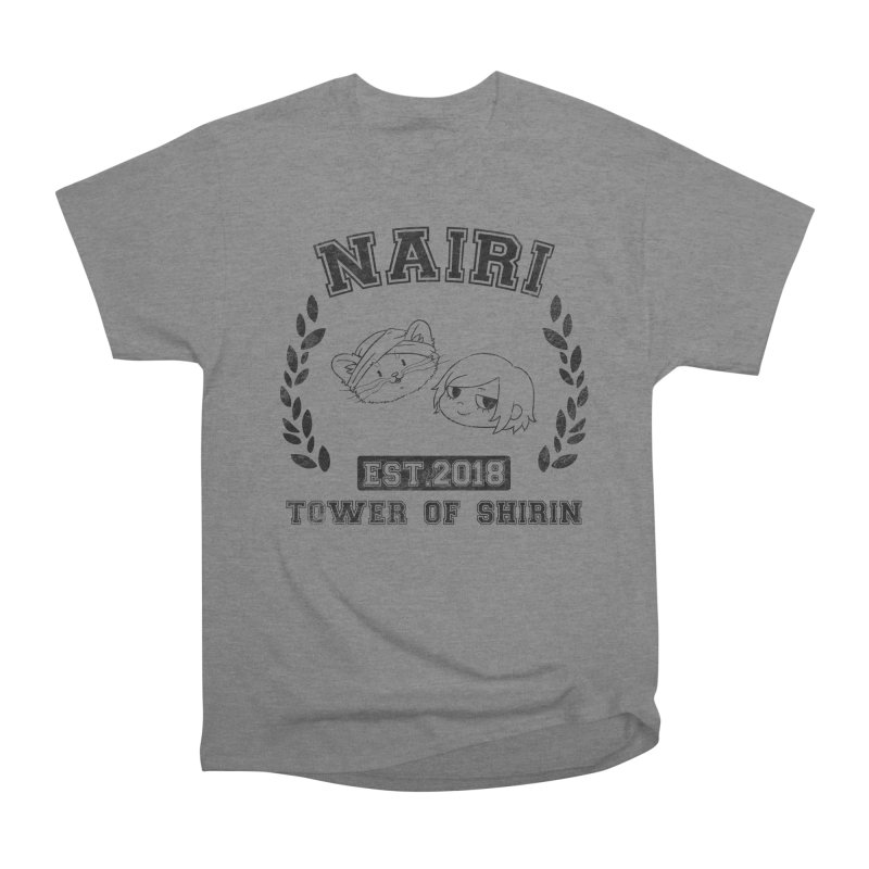 Sporty Nairi & Rex! (Black) Men's Heavyweight T-Shirt by Hound Picked Games
