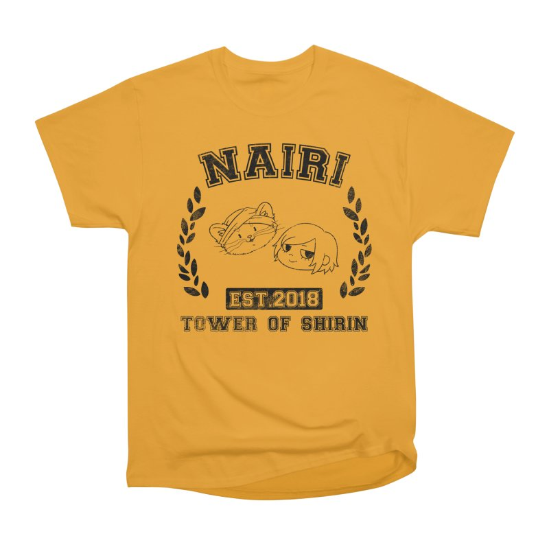Sporty Nairi & Rex! (Black) Women's Heavyweight Unisex T-Shirt by Hound Picked Games