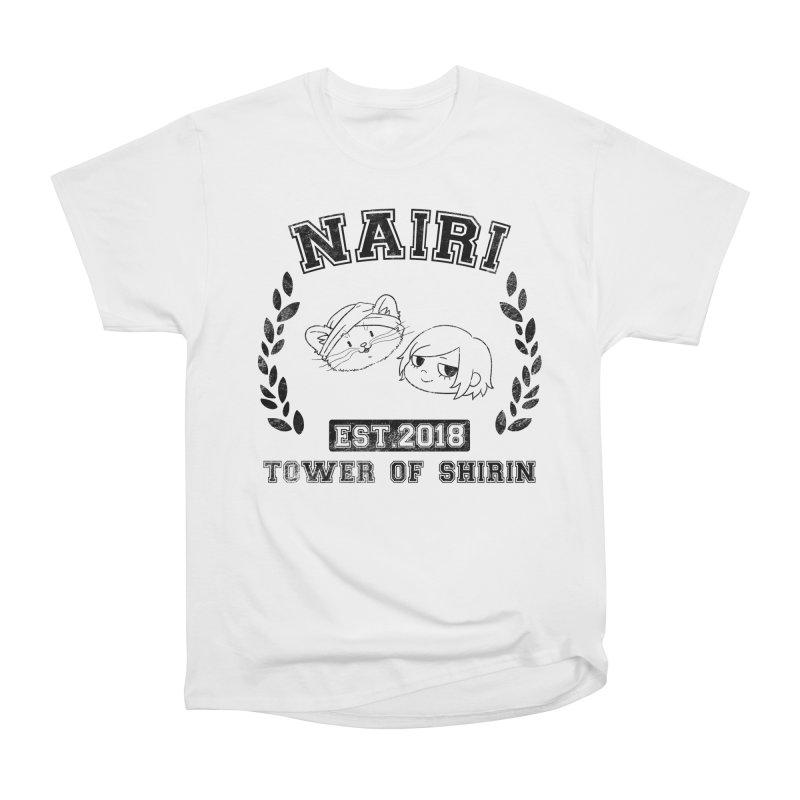 Sporty Nairi & Rex! (Black) Women's Heavyweight Unisex T-Shirt by Hound Picked Games