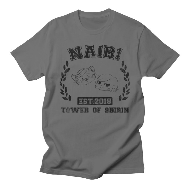 Sporty Nairi & Rex! (Black) Men's T-Shirt by Hound Picked Games