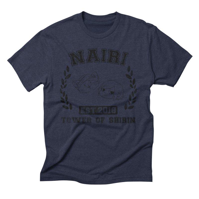 Sporty Nairi & Rex! (Black) Men's Triblend T-Shirt by Hound Picked Games