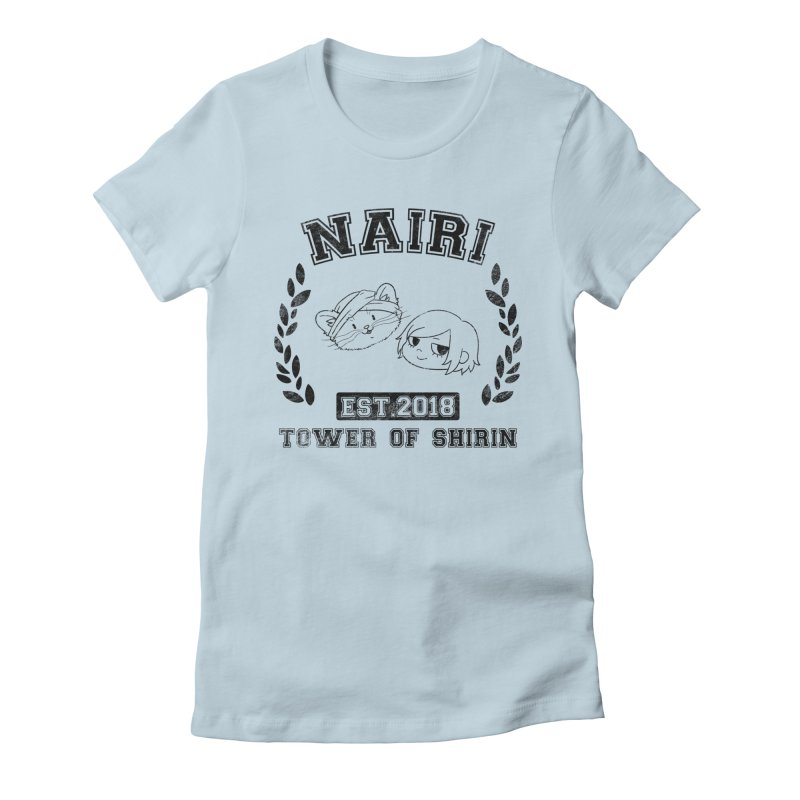 Sporty Nairi & Rex! (Black) Women's T-Shirt by Hound Picked Games