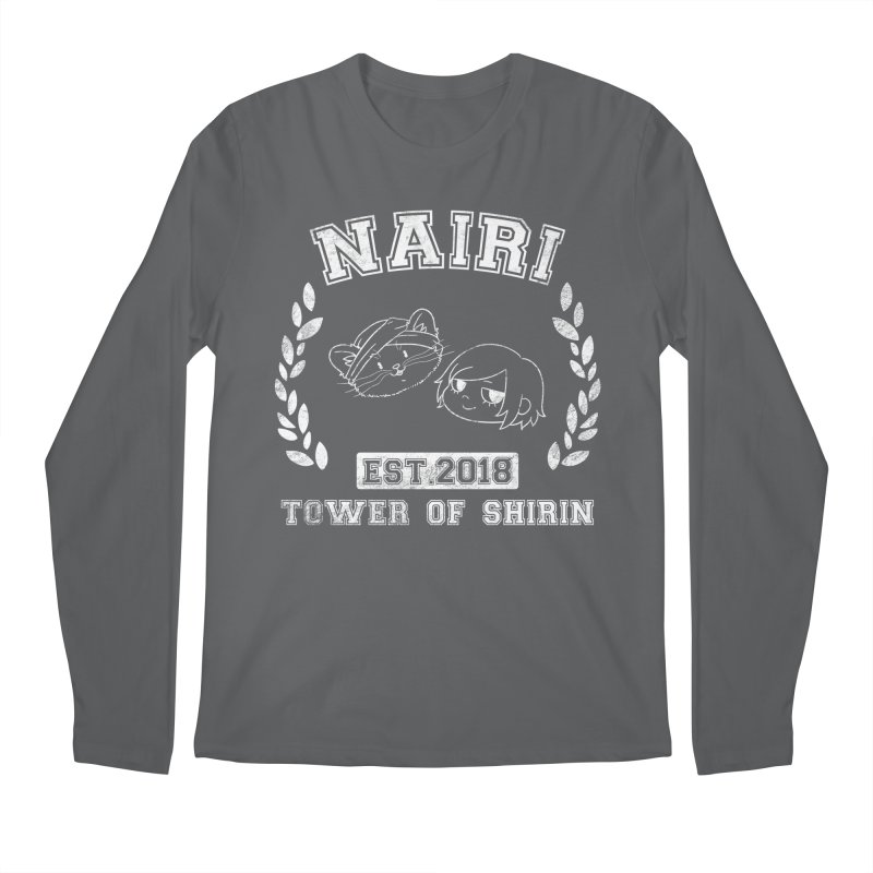 Sporty Nairi & Rex! (White) Men's Regular Longsleeve T-Shirt by Hound Picked Games