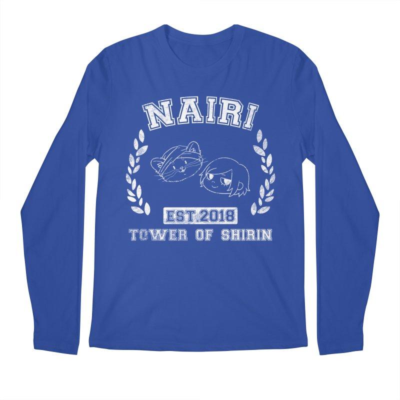 Sporty Nairi & Rex! (White) Men's Regular Longsleeve T-Shirt by Hound Picked Games