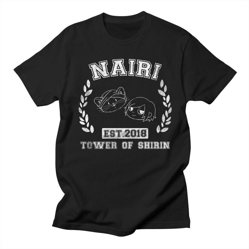Sporty Nairi & Rex! (White) Women's Regular Unisex T-Shirt by Hound Picked Games