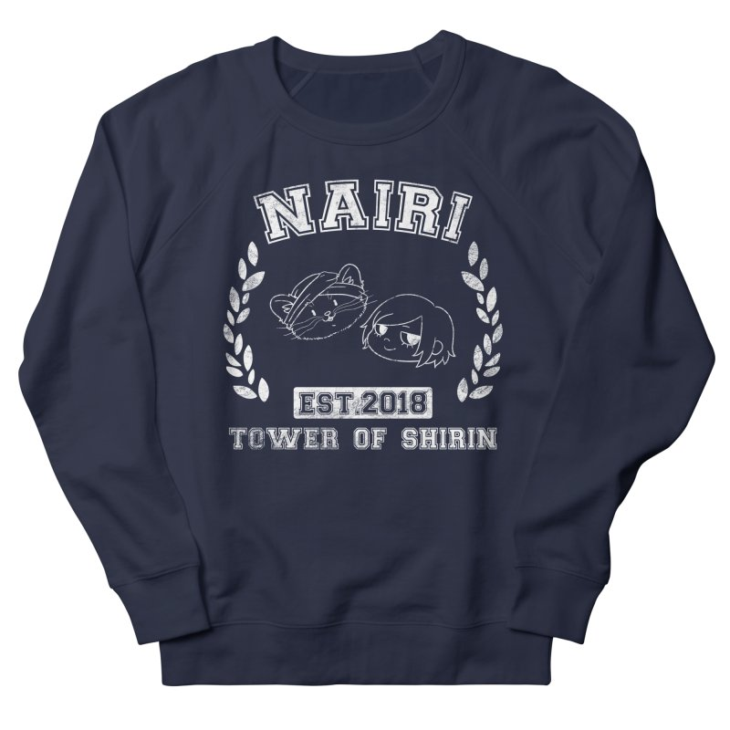 Sporty Nairi & Rex! (White) Women's French Terry Sweatshirt by Hound Picked Games