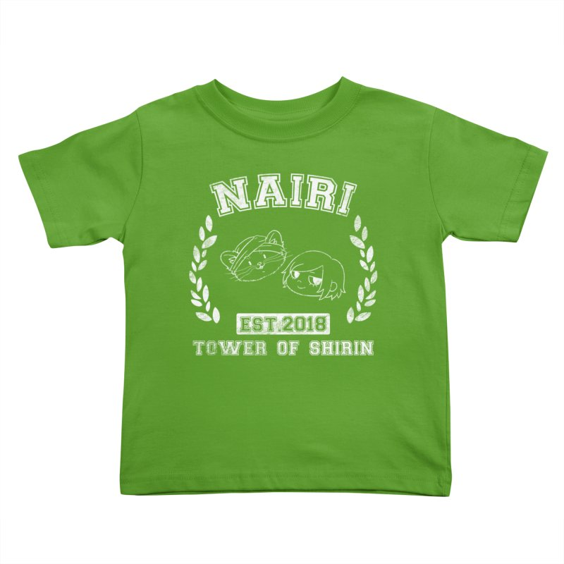 Sporty Nairi & Rex! (White) Kids Toddler T-Shirt by Hound Picked Games