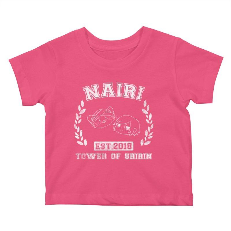 Sporty Nairi & Rex! (White) Kids Baby T-Shirt by Hound Picked Games