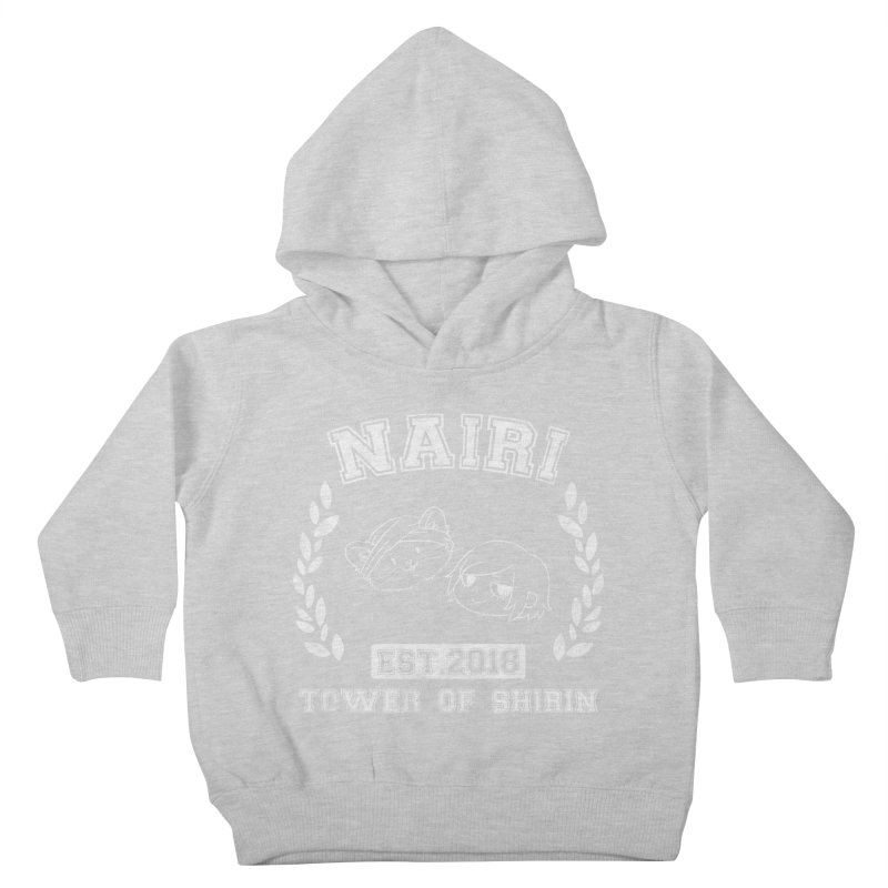 Sporty Nairi & Rex! (White) Kids Toddler Pullover Hoody by Hound Picked Games