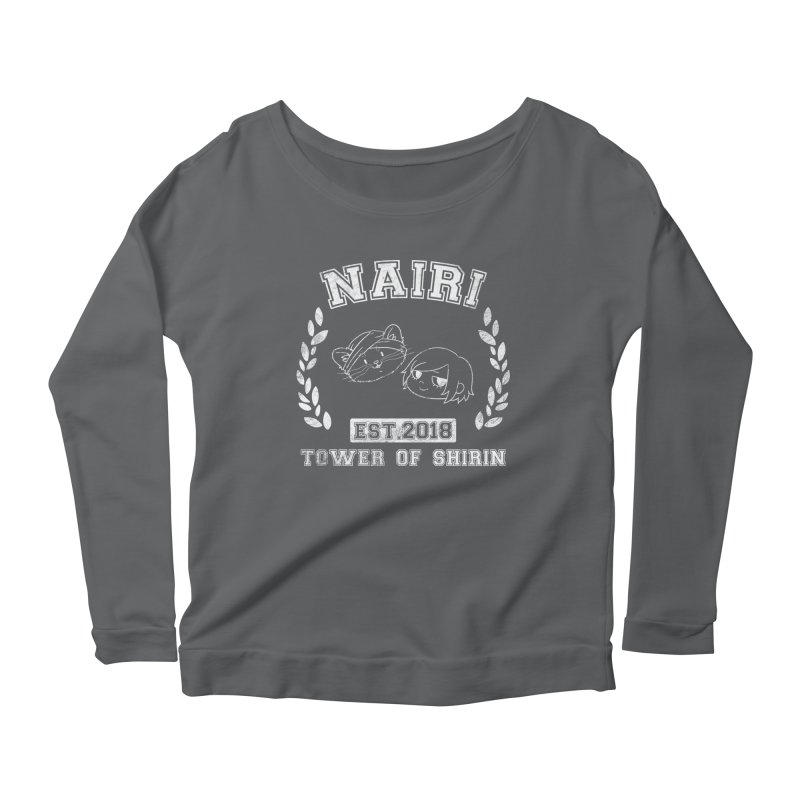 Sporty Nairi & Rex! (White) Women's Longsleeve T-Shirt by Hound Picked Games