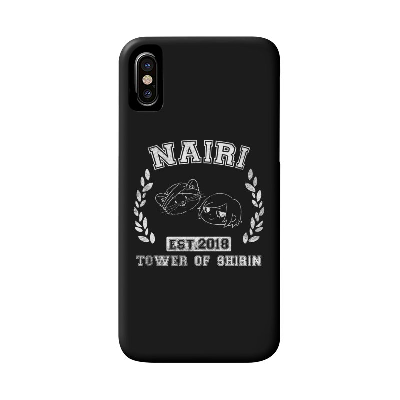 Sporty Nairi & Rex! (White) Accessories Phone Case by Hound Picked Games