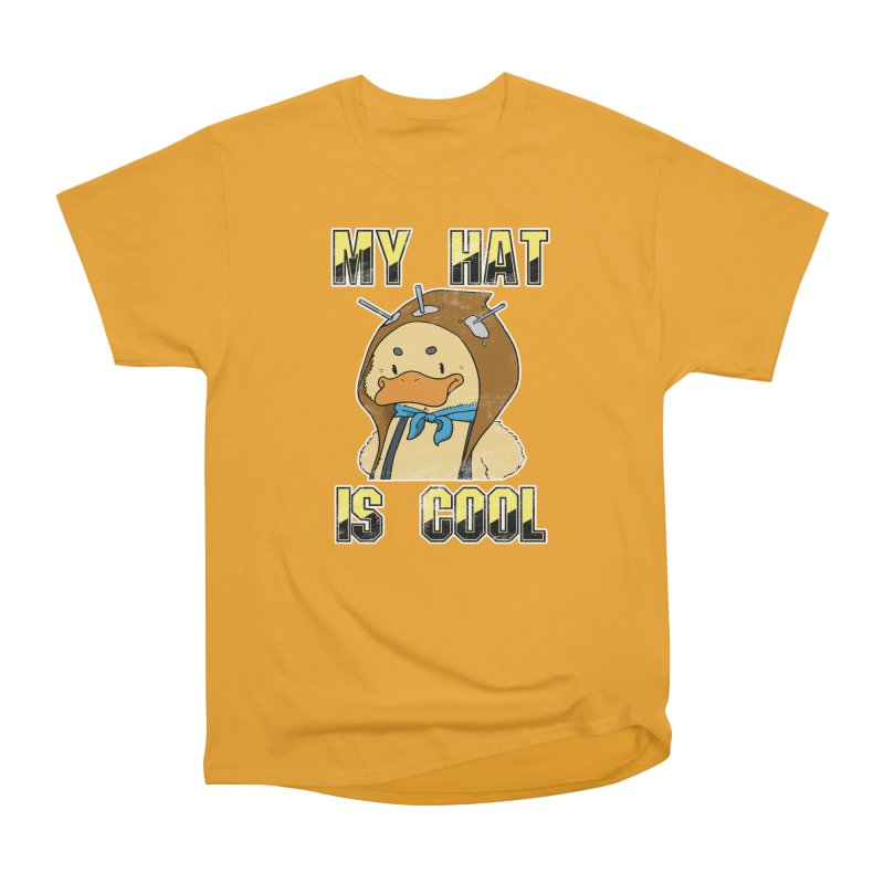 Is Your Hat Cool? Men's Heavyweight T-Shirt by Hound Picked Games