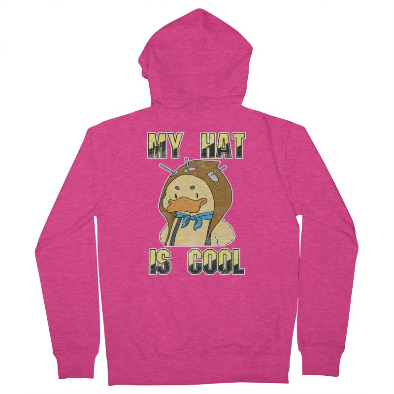 Is Your Hat Cool? Women's Zip-Up Hoody by Hound Picked Games