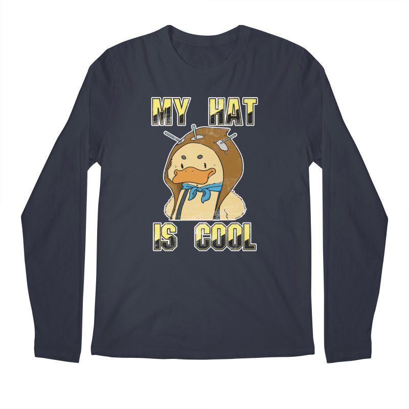 Is Your Hat Cool? Men's Regular Longsleeve T-Shirt by Hound Picked Games