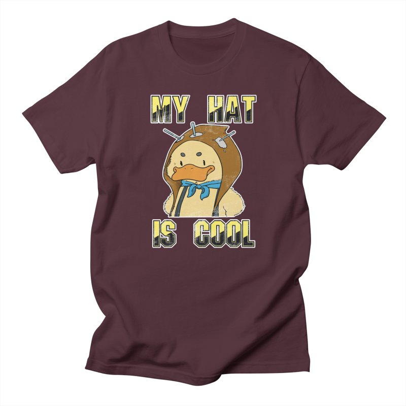 Is Your Hat Cool? Men's Regular T-Shirt by Hound Picked Games