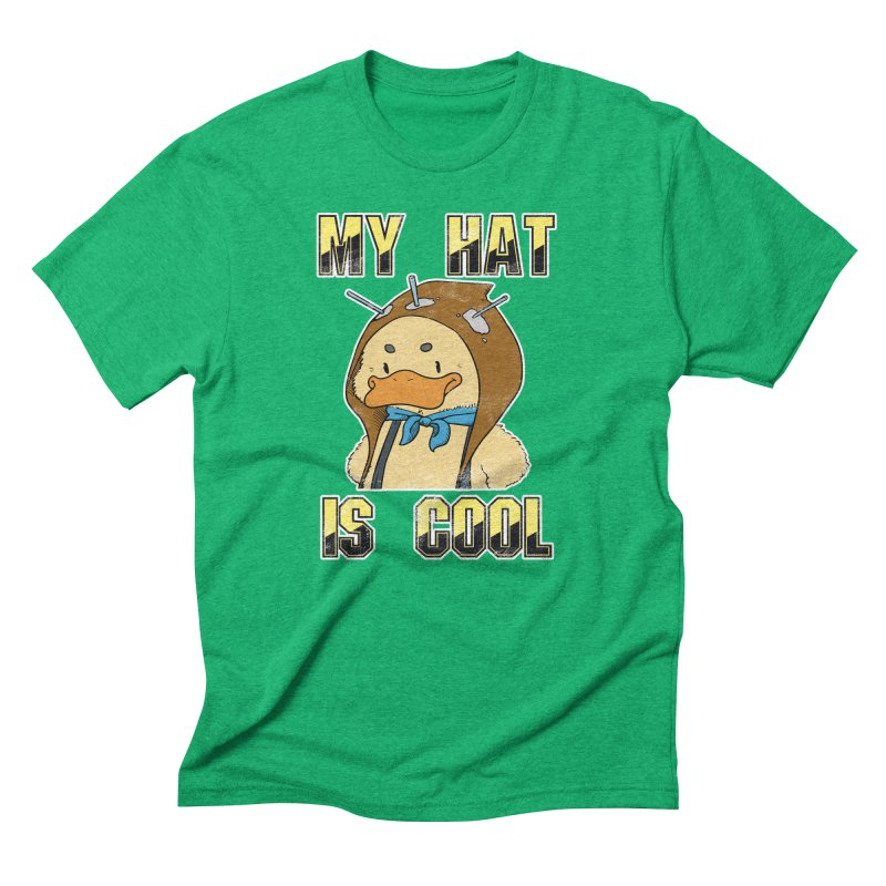 Is Your Hat Cool? Men's Triblend T-Shirt by Hound Picked Games