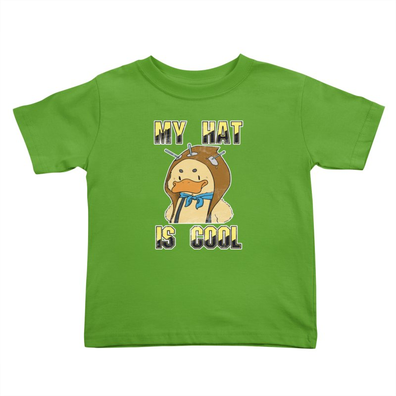Is Your Hat Cool? Kids Toddler T-Shirt by Hound Picked Games