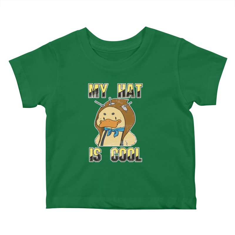 Is Your Hat Cool? Kids Baby T-Shirt by Hound Picked Games
