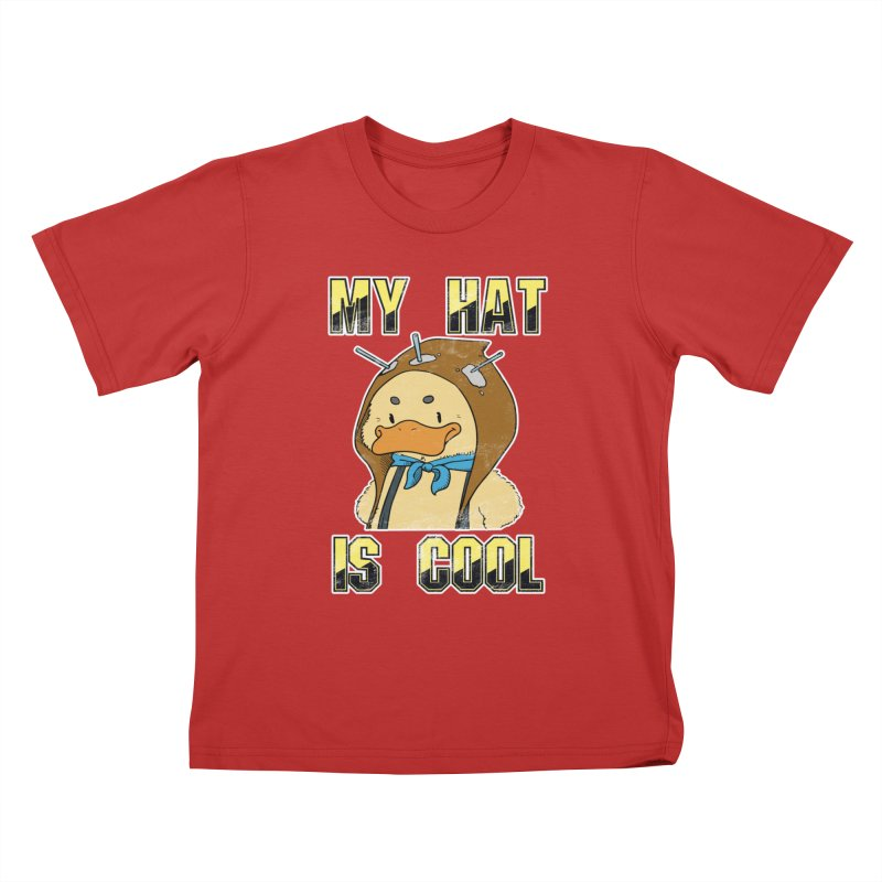 Is Your Hat Cool? Kids T-Shirt by Hound Picked Games