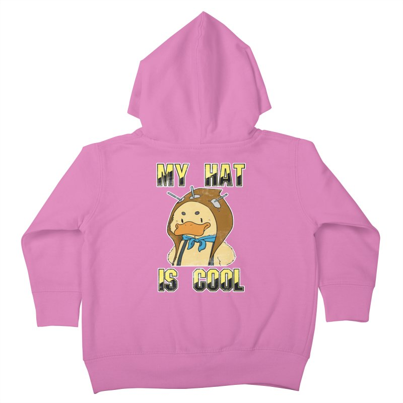 Is Your Hat Cool? Kids Toddler Zip-Up Hoody by Hound Picked Games