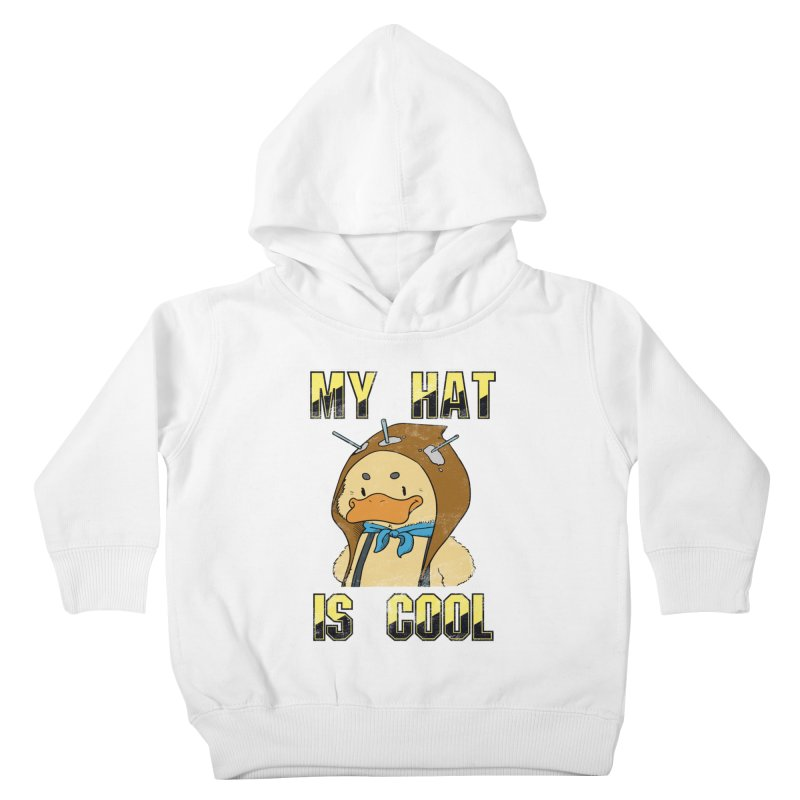 Is Your Hat Cool? Kids Toddler Pullover Hoody by Hound Picked Games