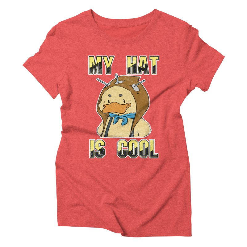 Is Your Hat Cool? Women's Triblend T-Shirt by Hound Picked Games