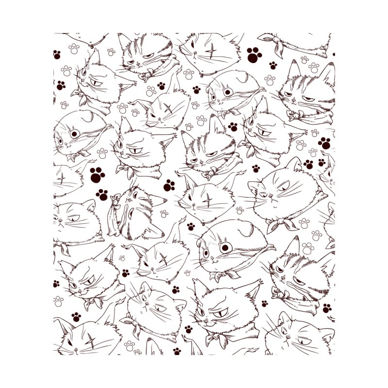 A Whole Bunch of Cats! (Brown) Home Throw Pillow by Hound Picked Games