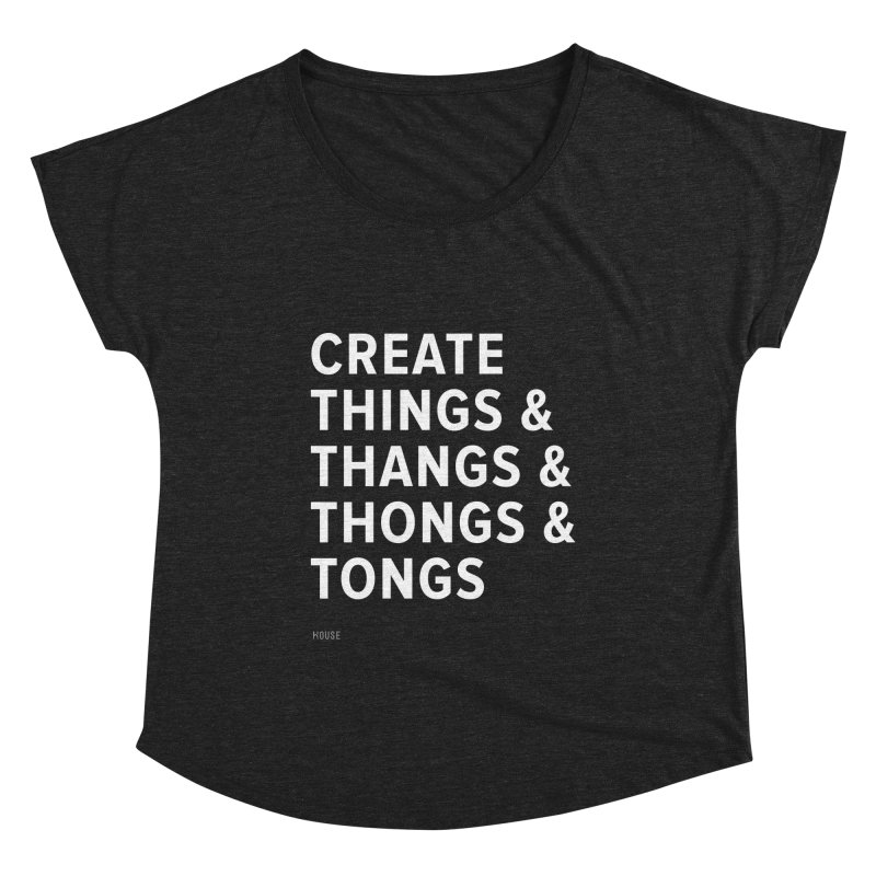Create Things Women's Dolman Scoop Neck by HouseMade