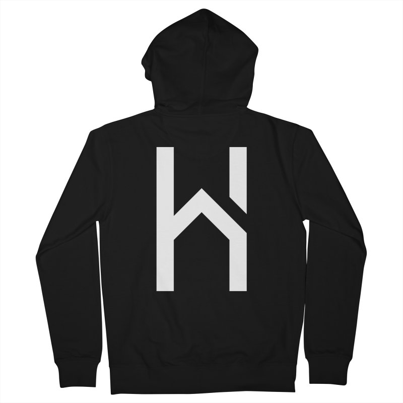 The H in House Men's French Terry Zip-Up Hoody by HouseMade