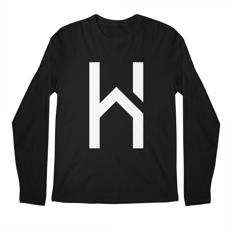 The H in House Men's Regular Longsleeve T-Shirt by HouseMade