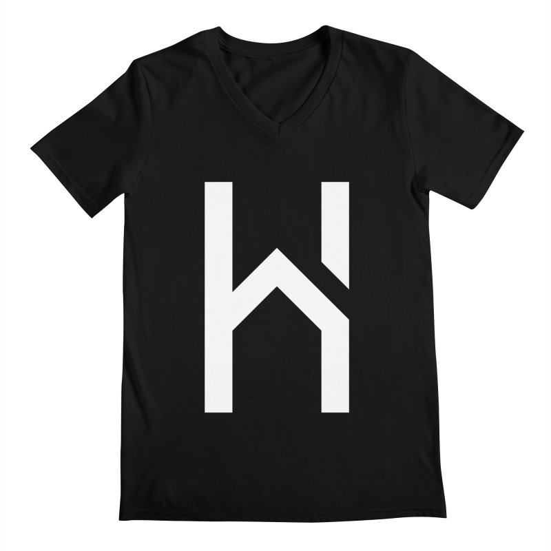 The H in House Men's Regular V-Neck by HouseMade