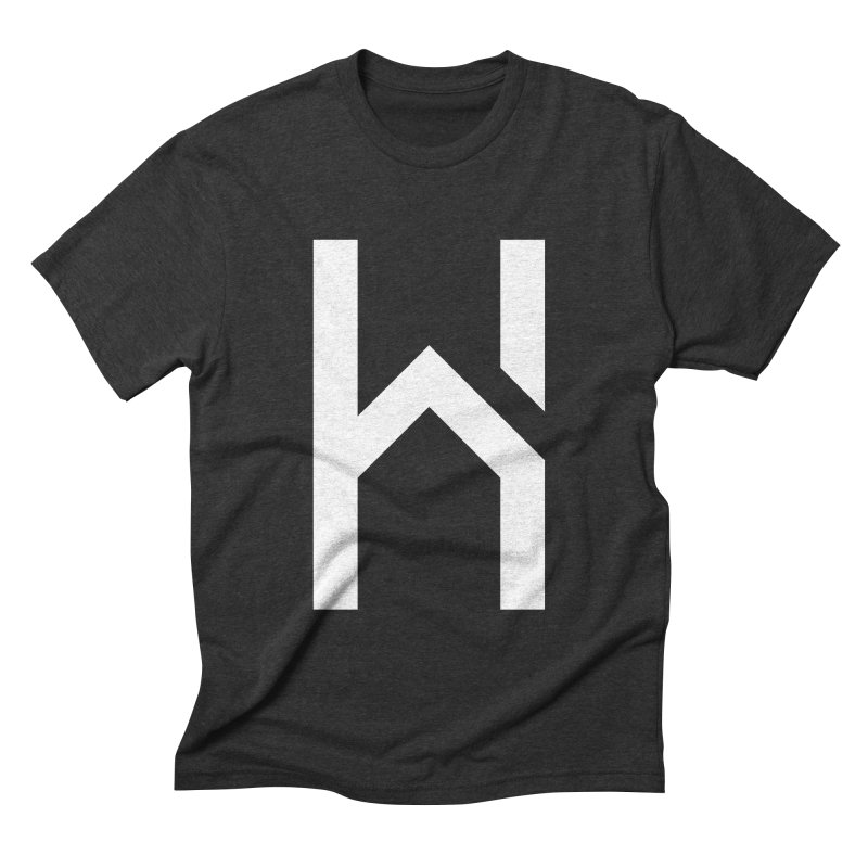 The H in House Men's Triblend T-shirt by HouseMade