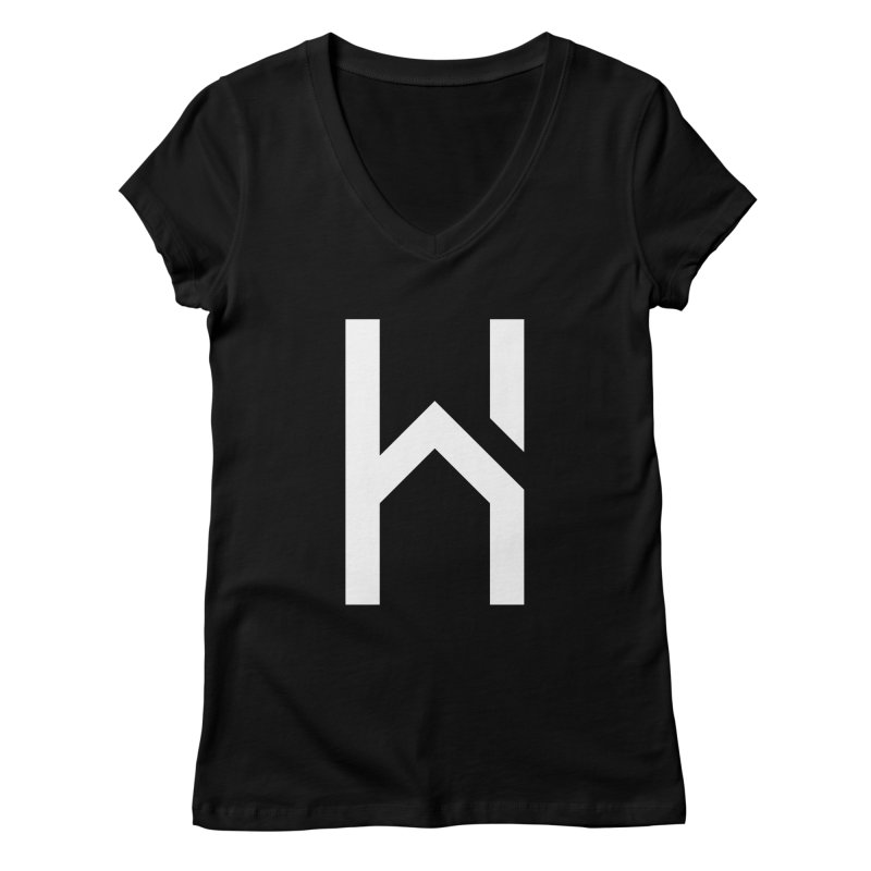 The H in House Women's V-Neck by HouseMade