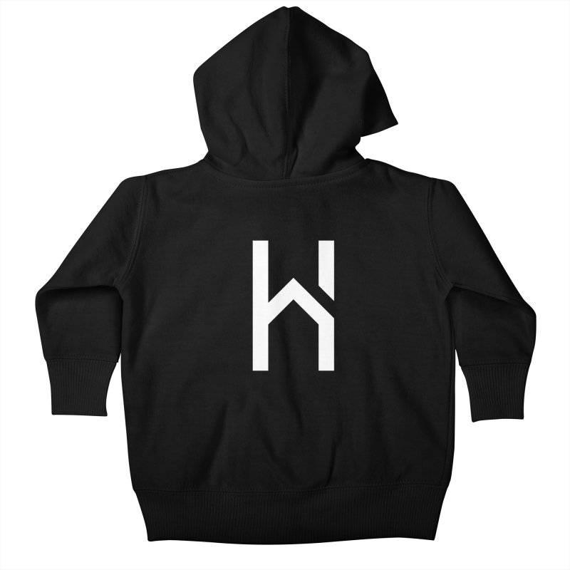 The H in House Kids Baby Zip-Up Hoody by HouseMade