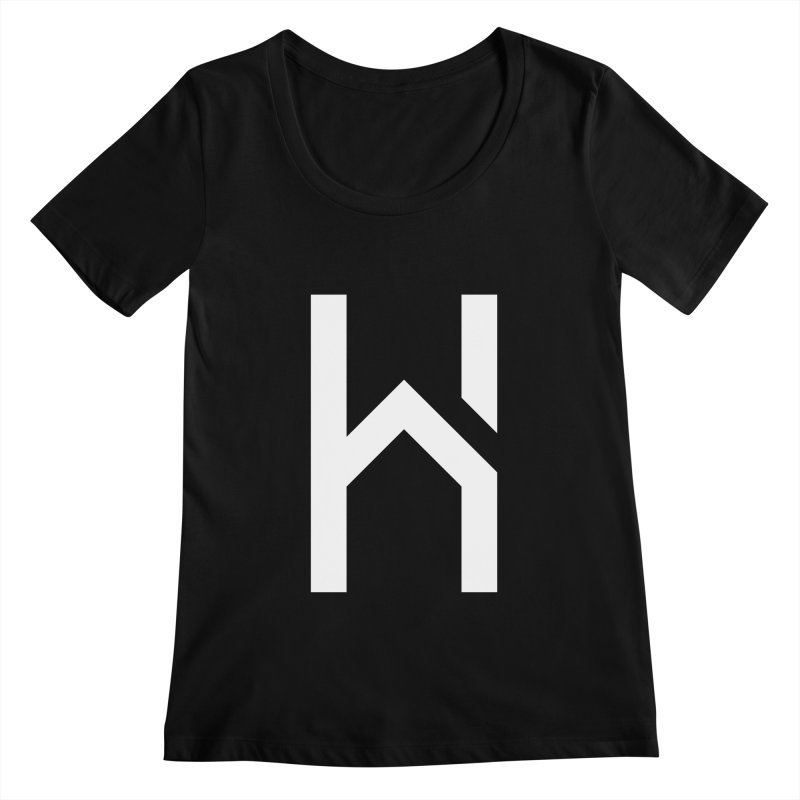 The H in House Women's Scoopneck by HouseMade
