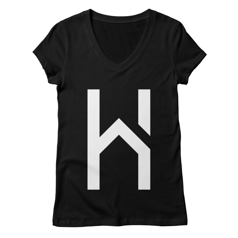 The H in House Women's Regular V-Neck by HouseMade