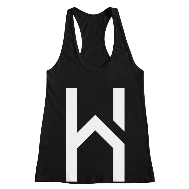 The H in House Women's Racerback Tank by HouseMade